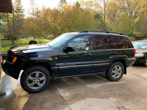 Photo 2004 Jeep Grand Cherokee WJ Overland V8 HO RARE (NEWLY REBUILT MOTOR) - $5,000 (La Porte)
