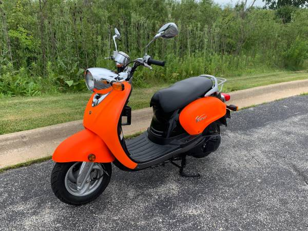 Photo 2007 Yamaha Vino 125 scooter - $1,900 (Tinley Park)