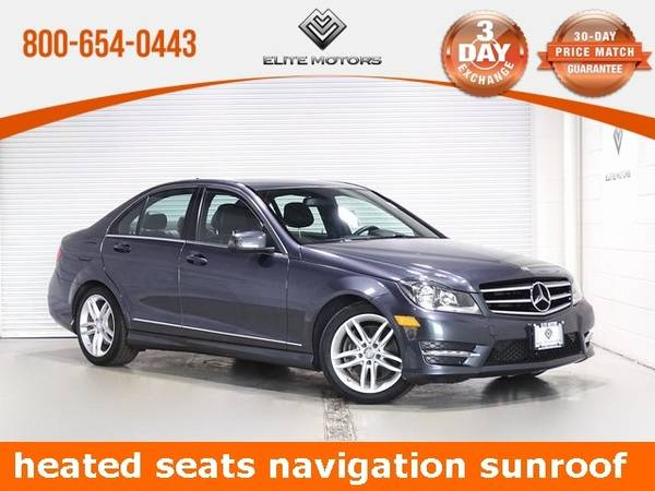 Photo 2014 Mercedes-Benz C-Class C 300 Bad Credit, No Credit NO PROBLEM - $17,000 (2014 Mercedes-Benz C-Class C 300 Bad Cred)
