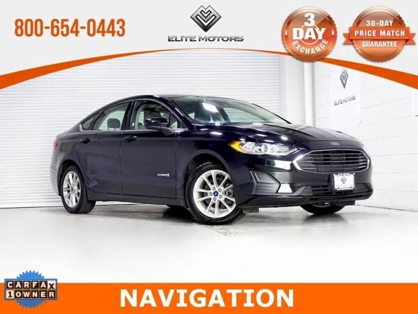 Photo 2019 Ford Fusion Hybrid SE Bad Credit, No Credit NO PROBLEM - $14,998 (2019 Ford Fusion Hybrid SE Bad Credit, )