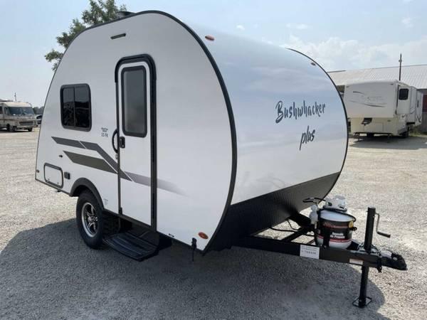Photo 2021 Braxton Creek 15FK Bushwhacker Plus Teardrop Trailer - $12,999 (Big Rock)