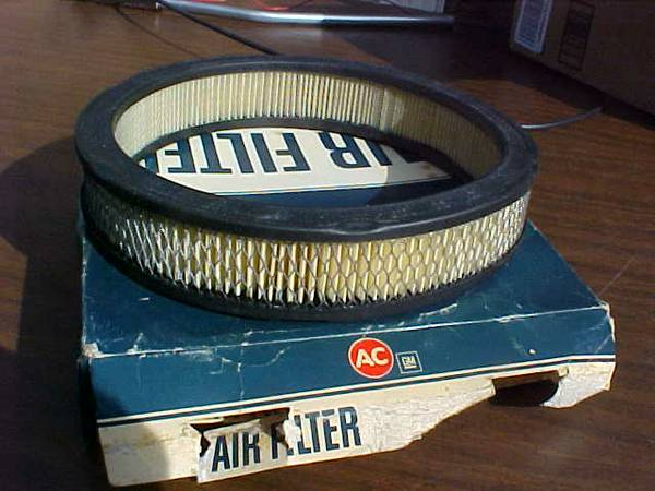 Photo AC169 air filter new in box fits Chevy 6 cylinder 1962 -1979 - $10 (Bridgeport sw Chicago)