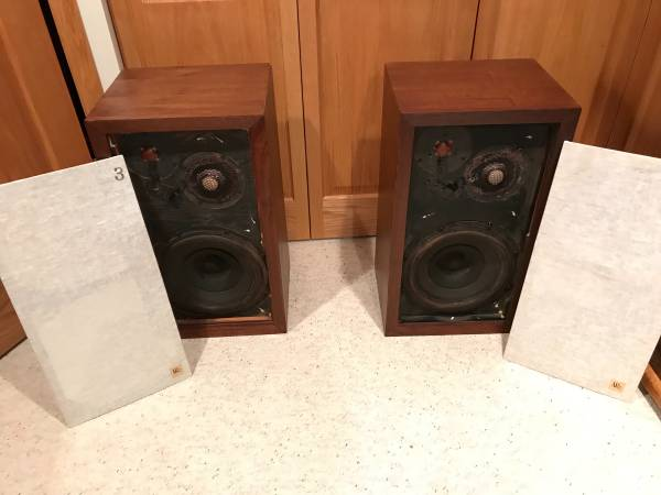 Photo Acoustic Research AR-3 speakers - $1,250 (Gurnee)