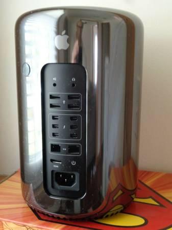 Photo Apple Mac Pro 2013 12 Core 2.7GHz 32GB RAM 500GB SSD Dual D300 GPU - $1,650 (Cicero)