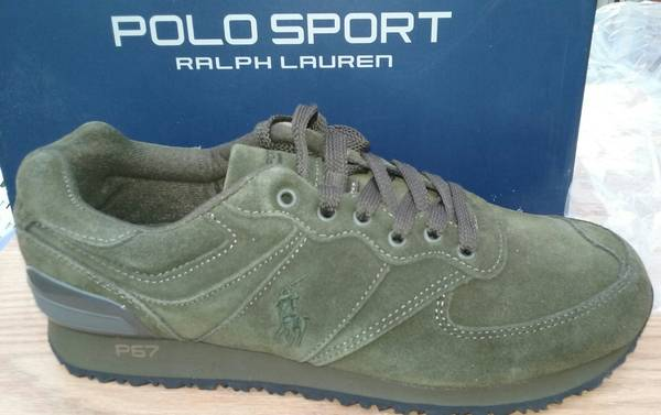 Photo BRAND NEW SIZE 11.5D Polo Ralph Lauren - Slaton Pony Deep Olive Sport - $59 (LOMBARD)