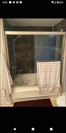 Photo Bathtub sliding glass doors  1 shower glass door - $150 (Lincoln Park)