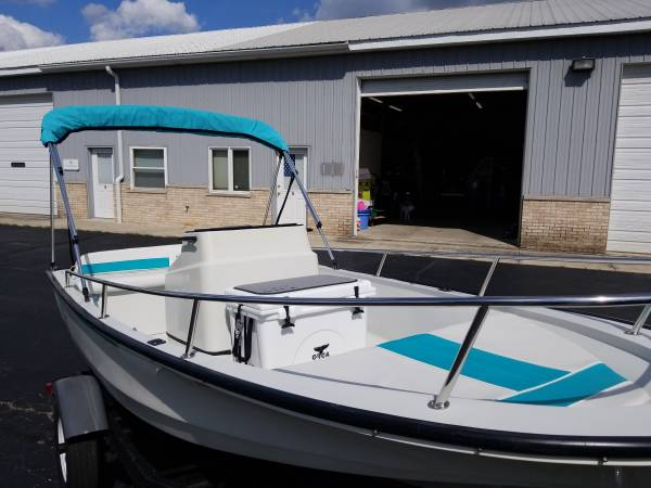 Photo Boston Whaler Rage Jet Boat Tender Dingy - $6000 (New Lenox)