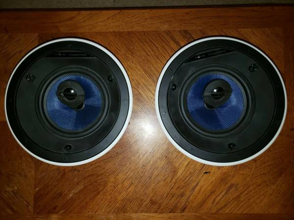 Photo Bowers and Wilkins Speakers CCM663 Ceiling BW - $500 (south burbs)