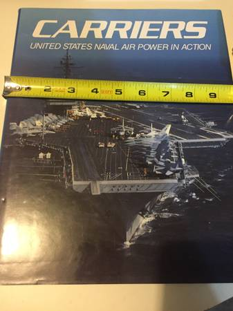 Photo Carriers United States Naval Air Power In Action Hardcover - $25
