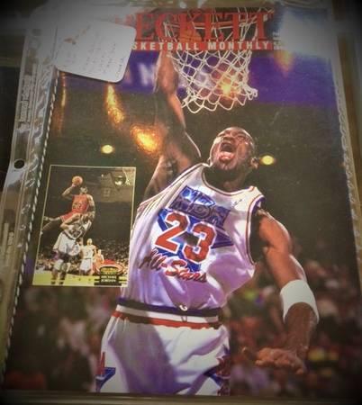 Photo February 1993 Beckett Basketball Monthly Michael Jordan Issue 31 - $20 (Oak Lawn)