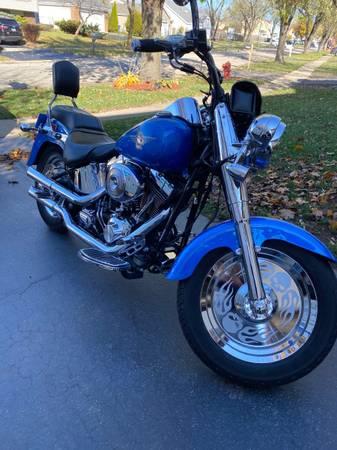 Photo Harley Davidson Fat boy 2002 - $6,500 (Bartlett)