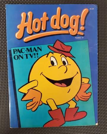 Photo Hot Dog Magazine 17 - 1983 - Pac-Man - Great condition - $5