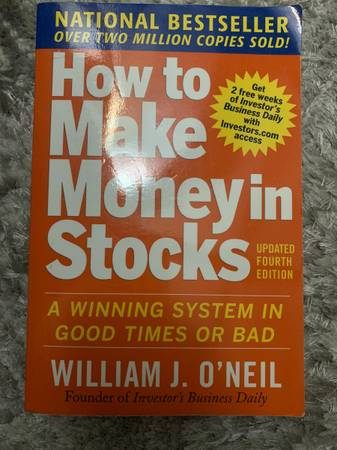 Photo How to make Money in Stocks Book by William ONeil - $5 (Chicago)