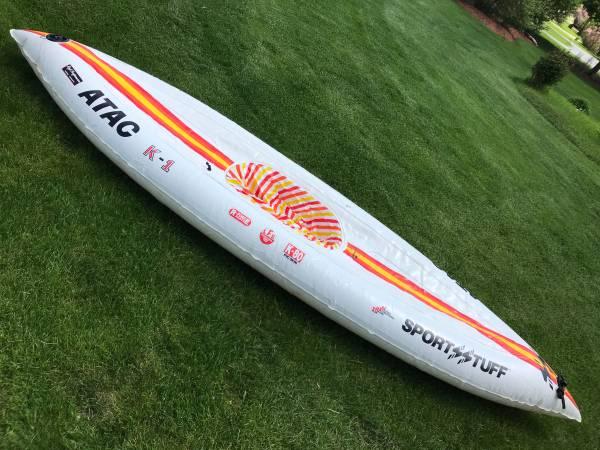 Photo Inflatable Kayak - $50 (Homer Glen)