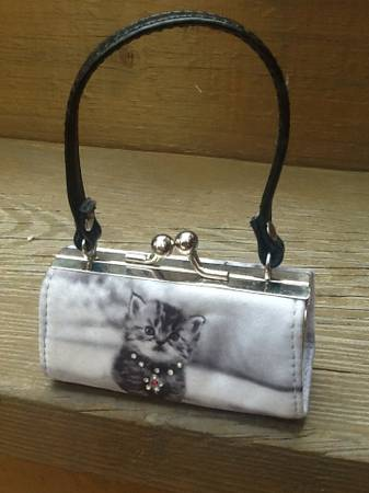 Photo Kitty Coin Purse - Bejeweled - 3.5 x 2.5quot - $4 (North Side)