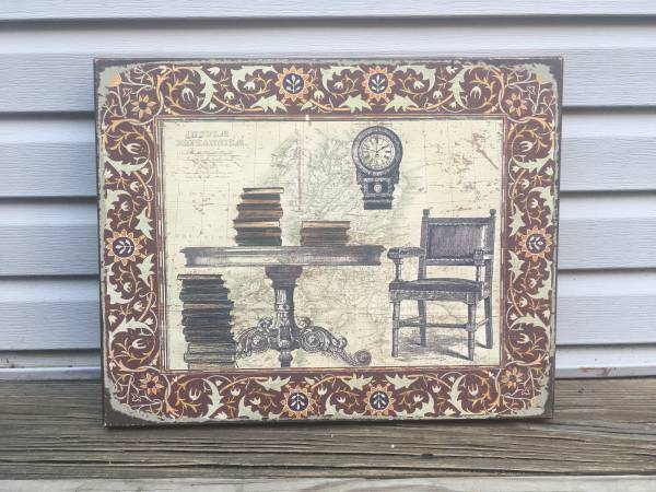 Photo Library Box Shabby Chic Wooden Wall Art - 16 x 20 - $12 (North Side)