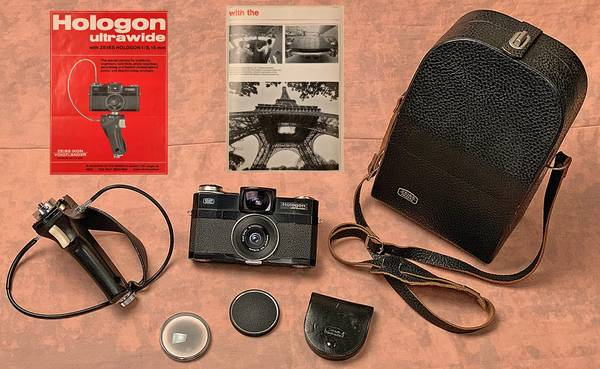 Photo Lightly Used Zeiss Hologon f15mm 18 Wide Angle Camera Center Filter - $3,500 (West Loop Gate)