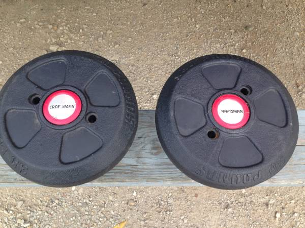 Photo MOWER WEIGHTS TRACTOR PLOW CRAFTSMAN MTD HUQVARNA OTHERS - $40 (Saint Charles)