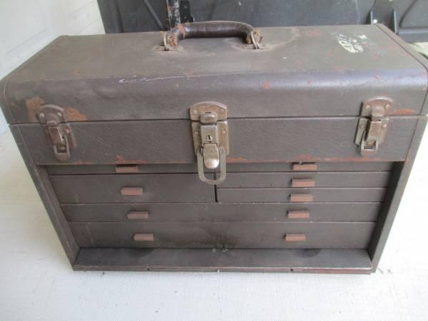 Photo Machinist Tools  Tool Box - $350 (Lowell,Indiana)