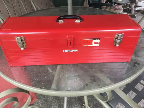 Photo NEW Craftsman Carpenter Tool Box - $45 (Justice, Illinois)