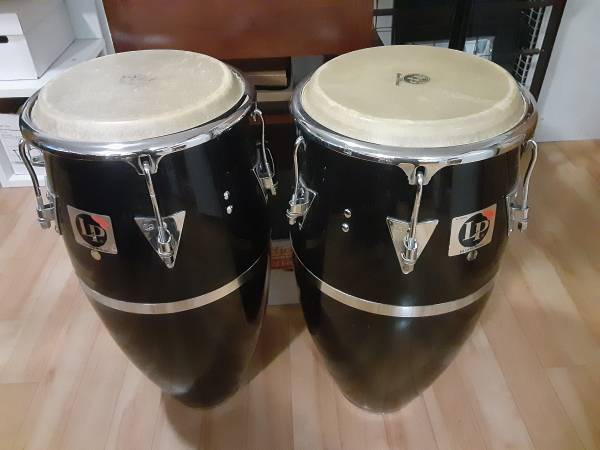 Photo Pair of conga drums for sale - $450 (Chicago)