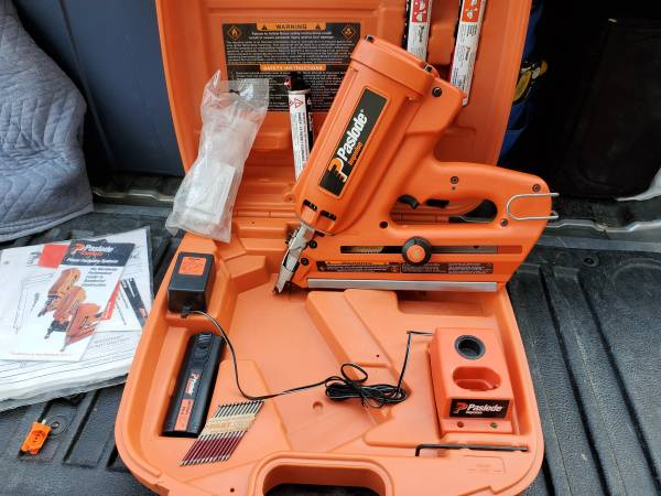 Photo Paslode Cordless Framing Nailer - $225 (Crystal Lake  Barrington)