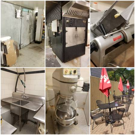 Photo Restaurant Equipment Furniture for SALE. Going out of business sale. (Chicago)