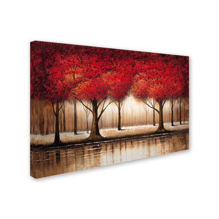Photo Rio quotParade of Red Trees iiquot canvas art - $50 (Lincoln Park)
