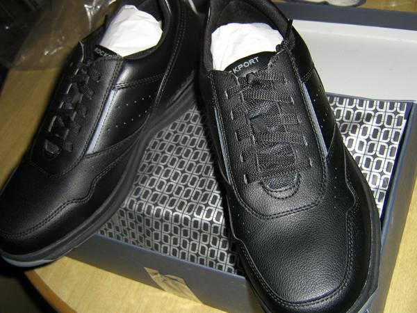 Photo Rockport Men39s On Road Walking Shoes (Brand New, Men39s 11.5 XW, Black) - $49 (Vicinity 5600 N. Kedzie)