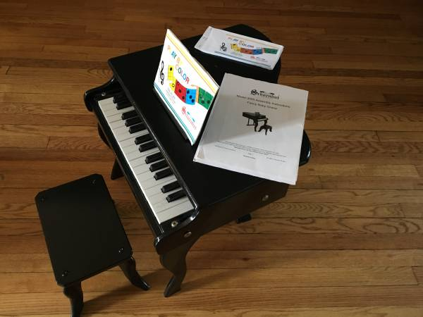 Photo Schoenhut Model 3005 Fancy Baby Grand Reduced serious inquiries only - $75 (Logan Sq)