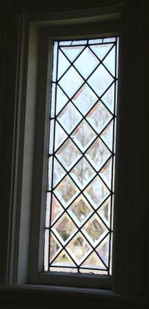 Photo Set of 2 Antique Beveled Glass Window - $450 (Detroit MI)
