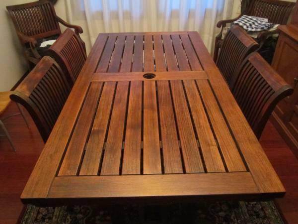 Smith Hawken Premium Quality Avignon Teak wood outdoor ...