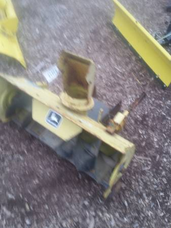 Photo Snowblower for a John deere tractor - $50 (DeMotte, IN)