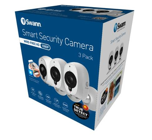 Photo Swann Wireless Security Cameras ModelSWWHD-INTCAM Brand  Never Used - $100 (In Chicago on N.W side)