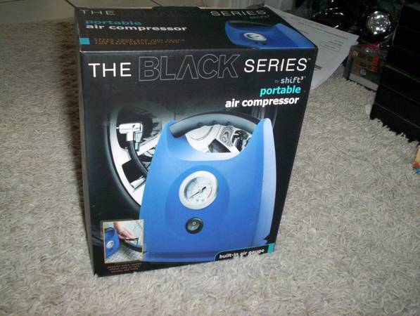 Photo The Black Series Portable Air Compressor - $25 (Schererville)
