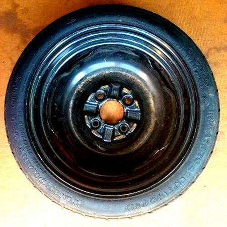 Photo Universal Spare Tire By TOYO Model T12570D15 95M Temporary Spare - $50 (Round Lake)