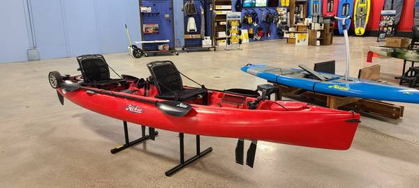 Photo Used 2017 Hobie Mirage Oasis Tandem - $2,885 (Quest Watersports, 1800 N 2871ST ROAD OTTAWA, IL)