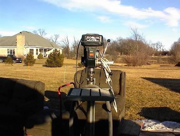 Photo Used Delta 70-200 20 Inch Drill Press 1HP - $400 (Frankfort)