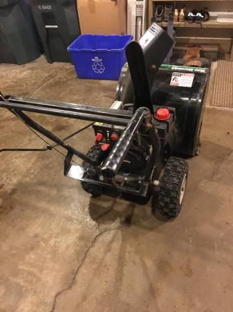 Photo Yard Machines MTD 2 Stage Snow Thrower Blower - $250 (Glenview)