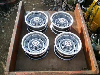 Photo chevy rally wheels - $400 (dixon)