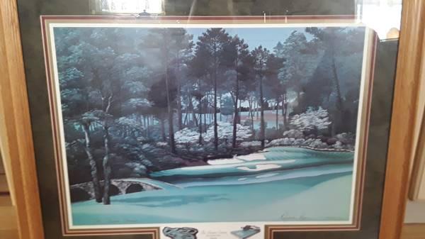 Photo dream course 12 Augusta, signed 1994 Elizabeth Peper - $75 (Beverly Morgan park Chicago)