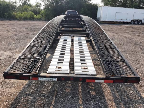 Photo kaufman trailer 3 cars, low bed - $11,500 (Palatine)