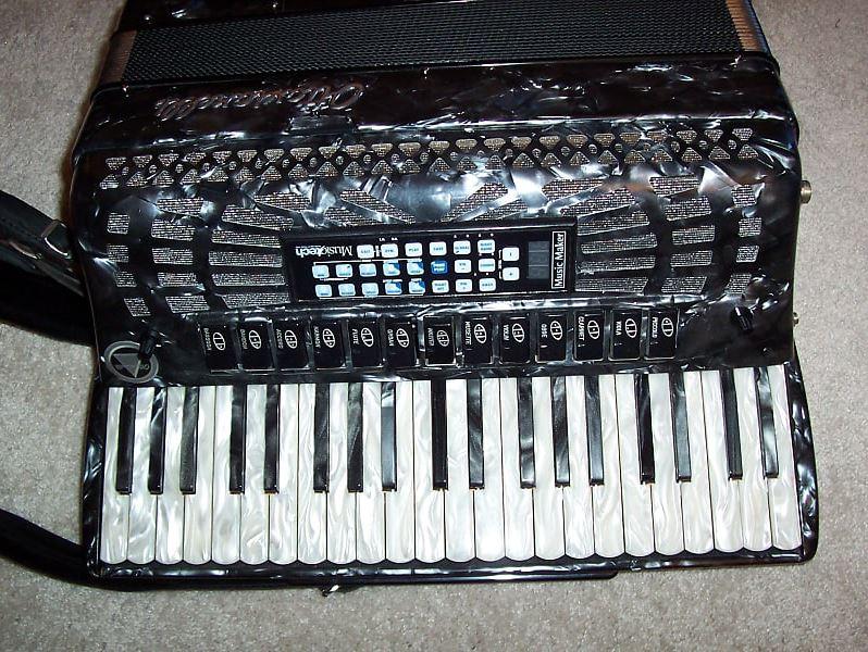Photo MIDI Ottavianelli 120 bass Accordion super jazz