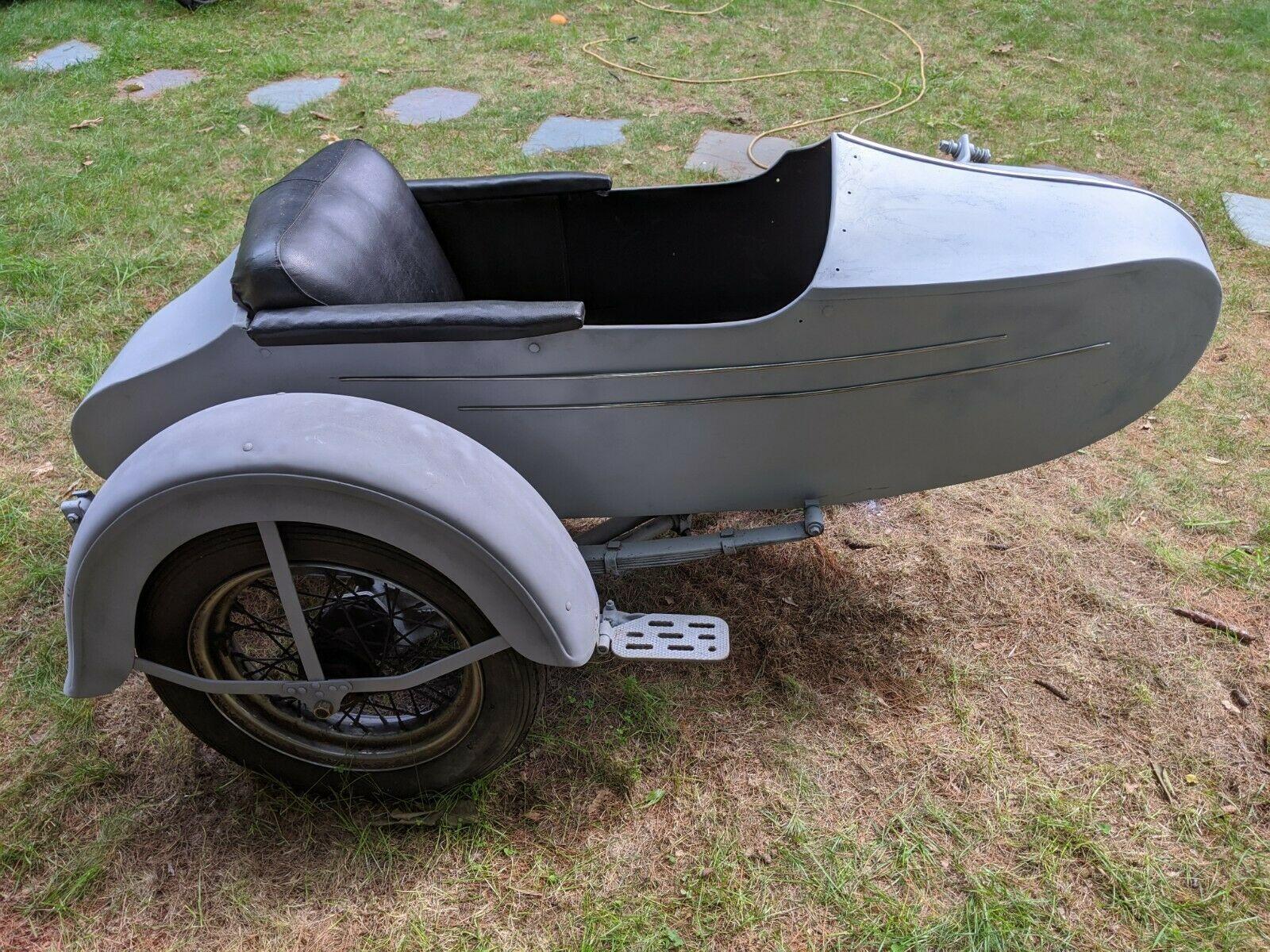 Photo 1950 Harley Davidson sidecar