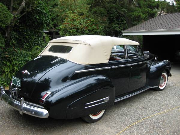 Photo 1941 BUICK ROADMASTER PHAETON-71C - $29000 (ORLAND)
