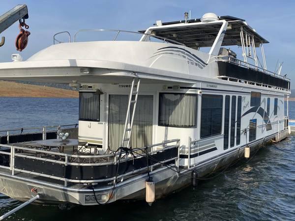 Photo 2003 Sumerset Houseboat 7539x 1639 - $199,000