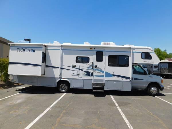 Photo 2005 RV FLEETWOOD TIOGA 2912 CLASS C CABOVER MOTORHOME W DOUBLE SL - $38,900 (GOLD COUNTRY RV)
