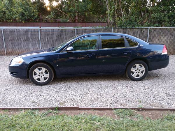 Photo 2008 Chevy Impala - Runs Great - Clean Car - Only Second Owner - $2800 (Chico)