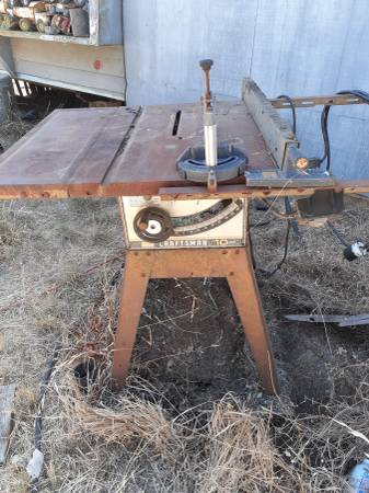 Photo 2 old 10 inch Craftsman table saws - $60 (Oroville)