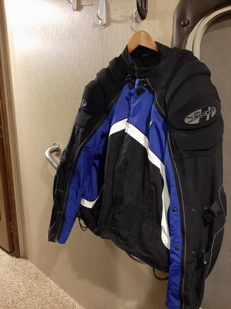 Photo As new Motorcycle jacket by Joe Rocket - $70 (Chico or Durham areas)